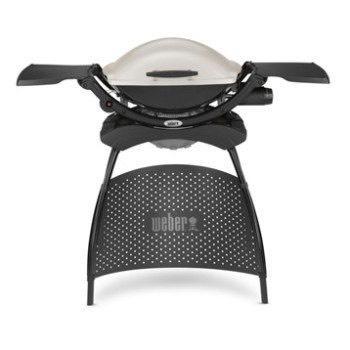 Barbecue Weber Q2000 avec stand 4 pieds - Titanium