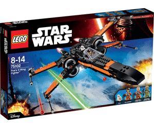 25% crédités en €uroCora sur une sélection de jouets Lego - Ex : Star Wars - Poe's X-Wing Fighter - 75102 (via 13.23€ en €uroCora)
