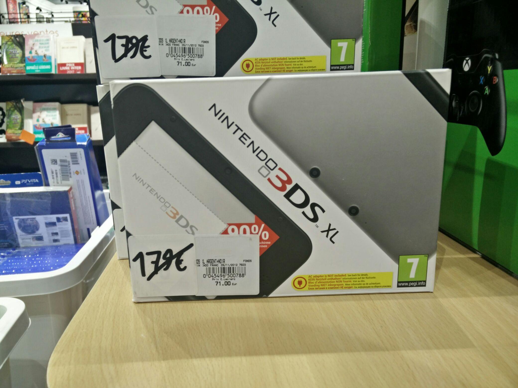 Console Nintendo 3DS XL - Noir
