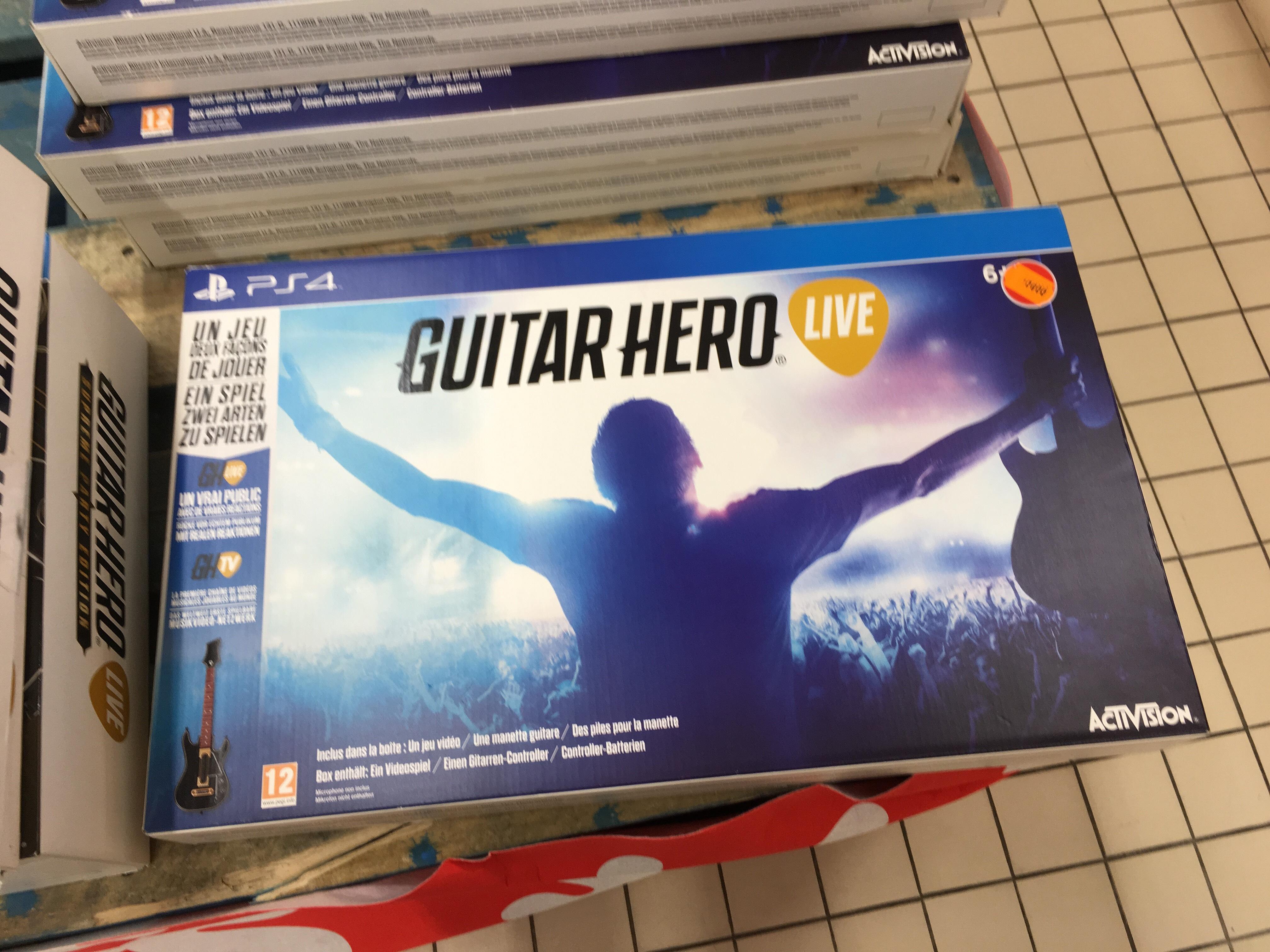 Guitar Hero Live sur PS4