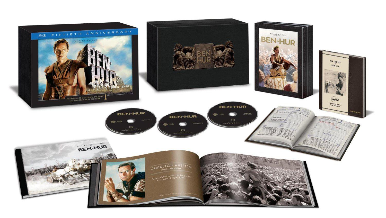 Blu-ray Ben-Hur Edition Ultimate Collector 50ème Anniversaire (Port : 12.12€)