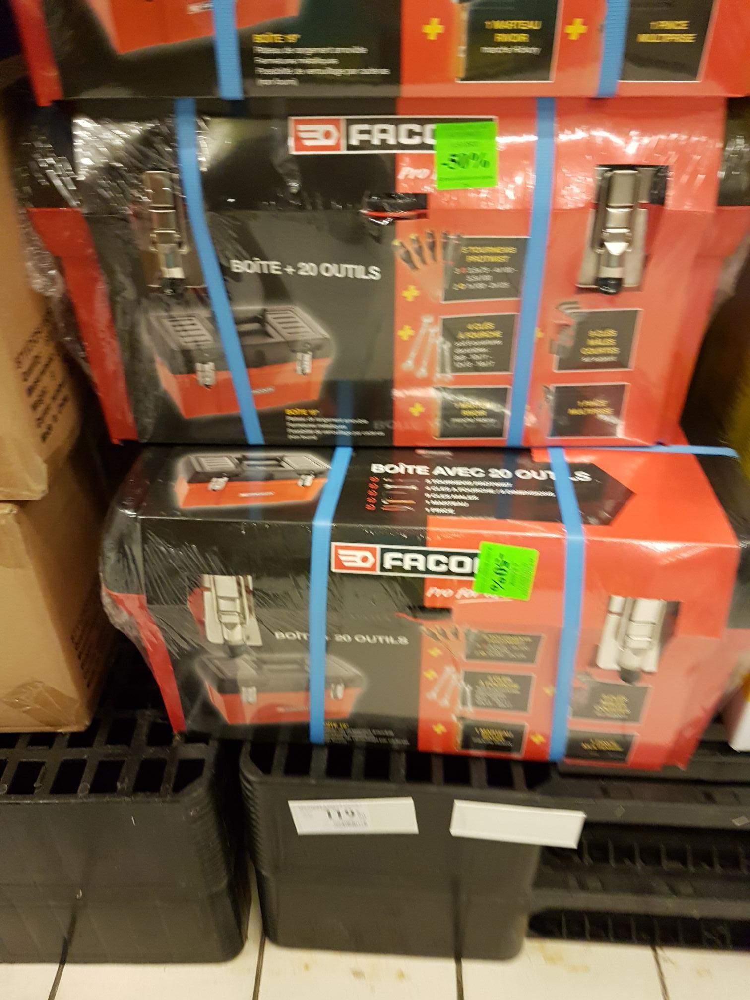 Boîte à outils Facom + 20 outils