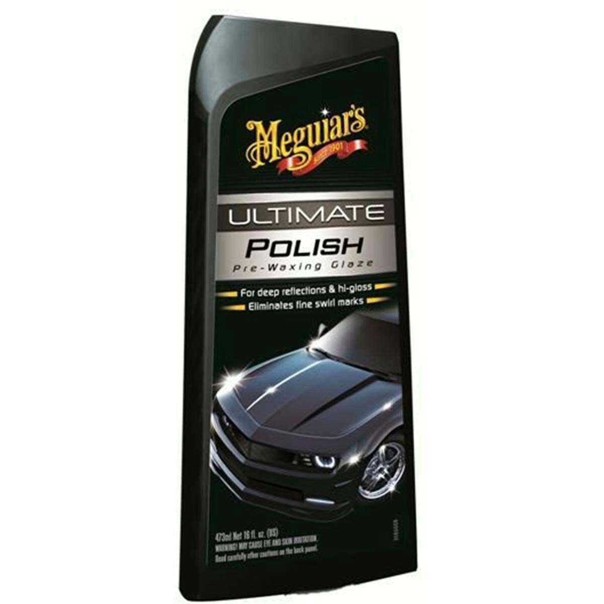 Sélection de produits de nettoyage pour voiture Meguiar's 1 acheté = 1 offert