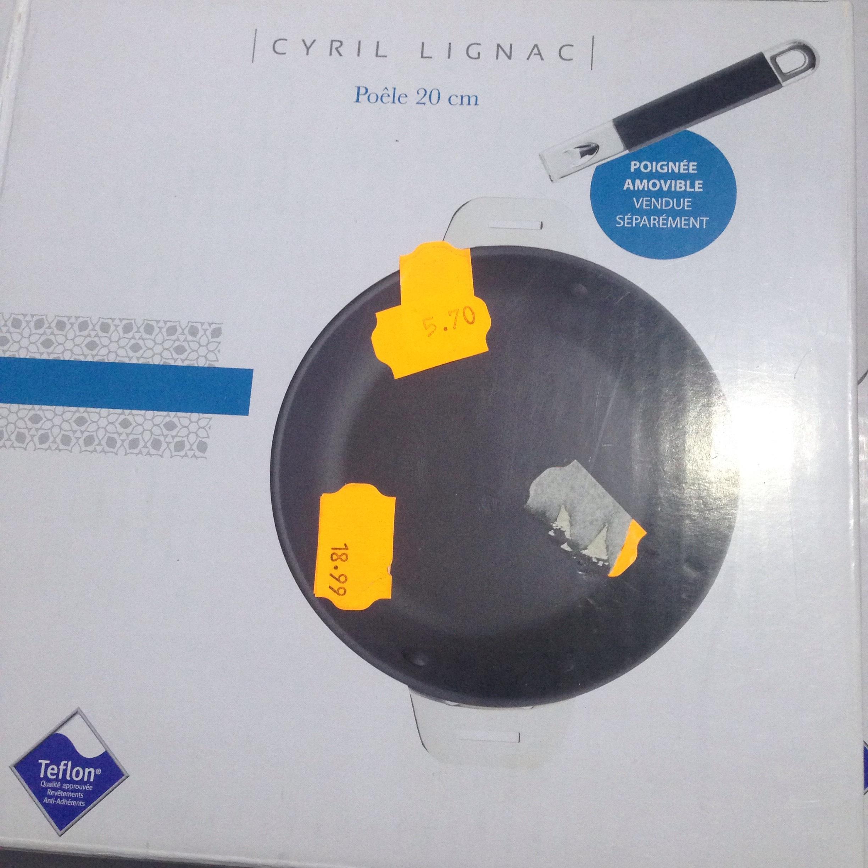 Poêle 20 cm Cyril Lignac (sans poignée)