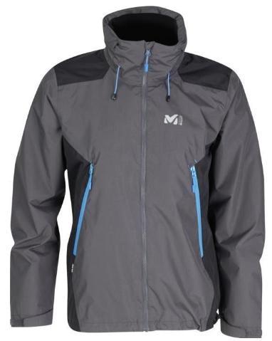 Veste Millet Lake District II JKT Gris pour Hommes - Tailles au choix
