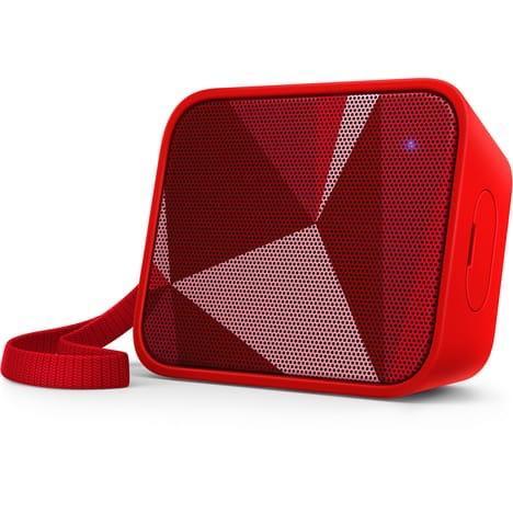 Enceinte Portable Sans-fil Philips BT110R Rouge - Bluetooth