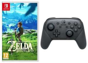 The Legend of Zelda: Breath of the Wild sur Nintendo Switch + Manette Pro Switch