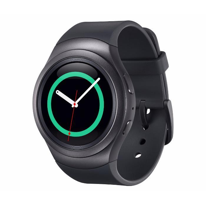 Montre connectée Samsung Gear S2 Sport - Noir ou Blanc (via ODR de 100€)