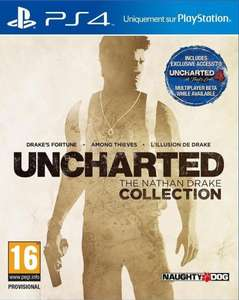 Uncharted: Drake Collection sur PS4