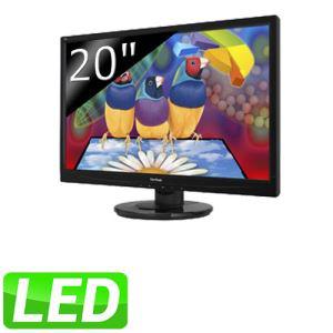 """Ecran PC ViewSonic 20"""" LED VA2046a - 1600 x 900 pixels - 5 ms - VESA / livraison gratuite"""