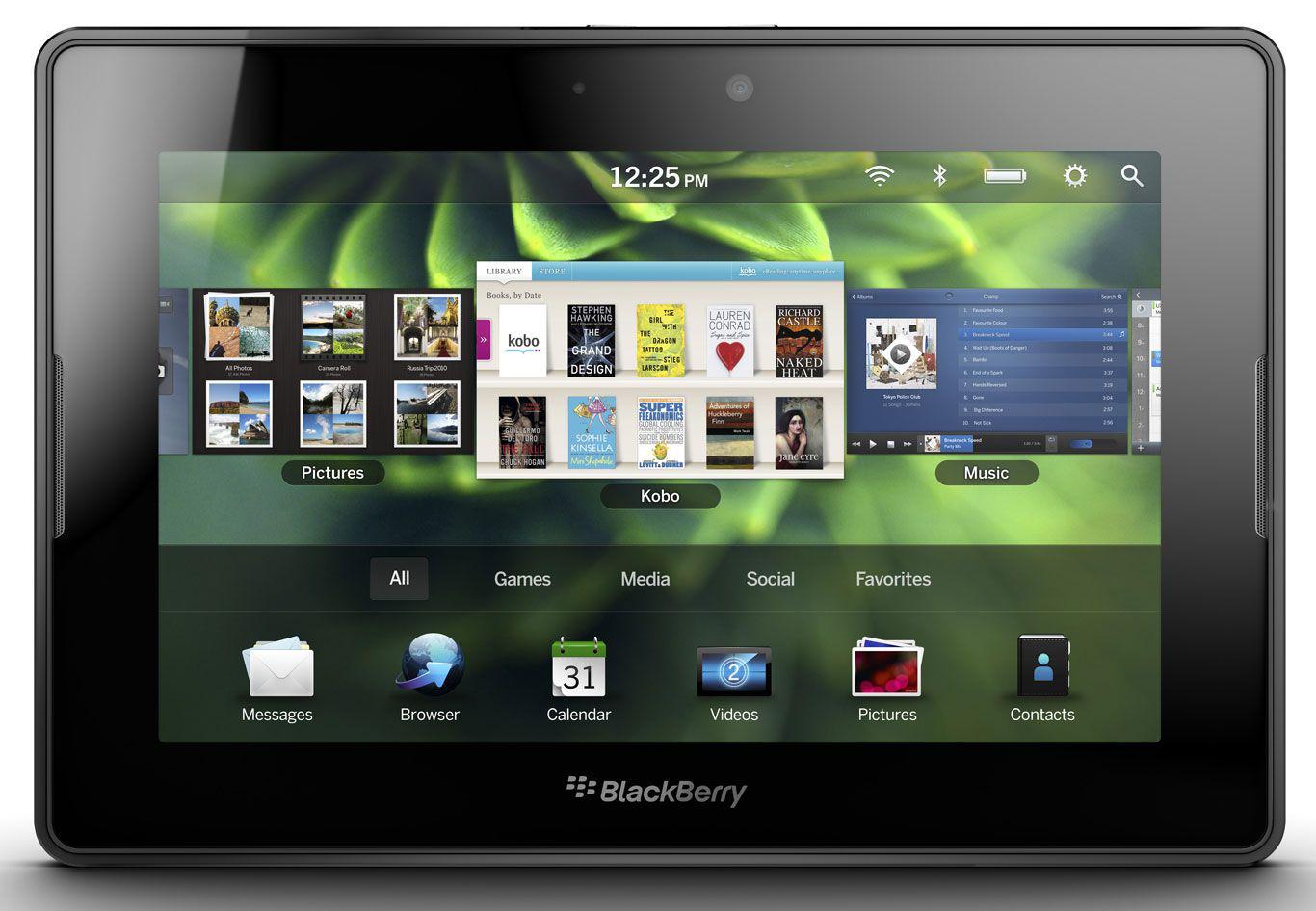 Tablette Blackberry Playbook 7'' 64 Go (Version UK) - Reconditionné (Grade B)