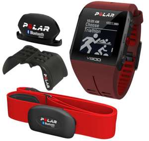 Montre de sport GPS Polar V800 HR JGN édition rouge
