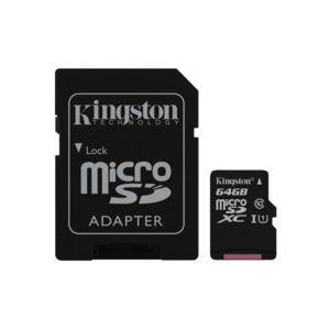 Carte microSDXC Class 10  Kingston - 64 Go