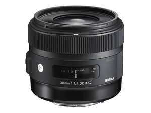 Objectif photo Sigma Art 30 mm f/1.4 DC HSM monture Nikon