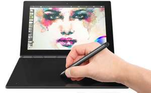 "PC Hybride 10.1"" Lenovo Yoga Book 1-X91F - Atom x5-z8550, 4 Go de RAM, 64 Go ROM, Windows 10"