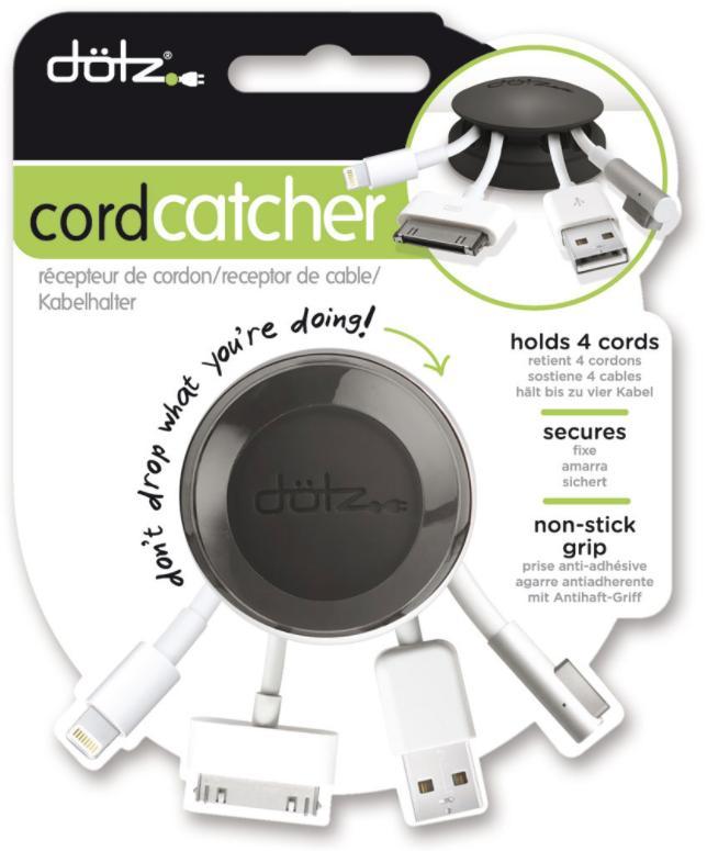 Sélection de rangements pour câble en soldes - Ex : Serre Câble Dotz pour 4 Câble