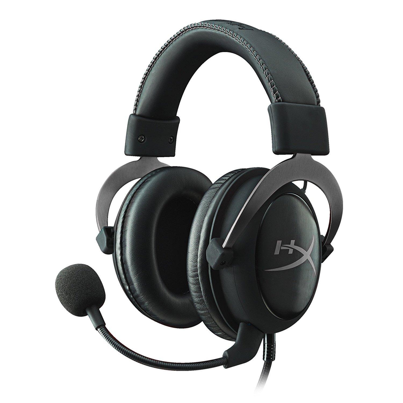 Casque audio Kingston HyperX Cloud II - Virtual 7.1, Noir/Argent