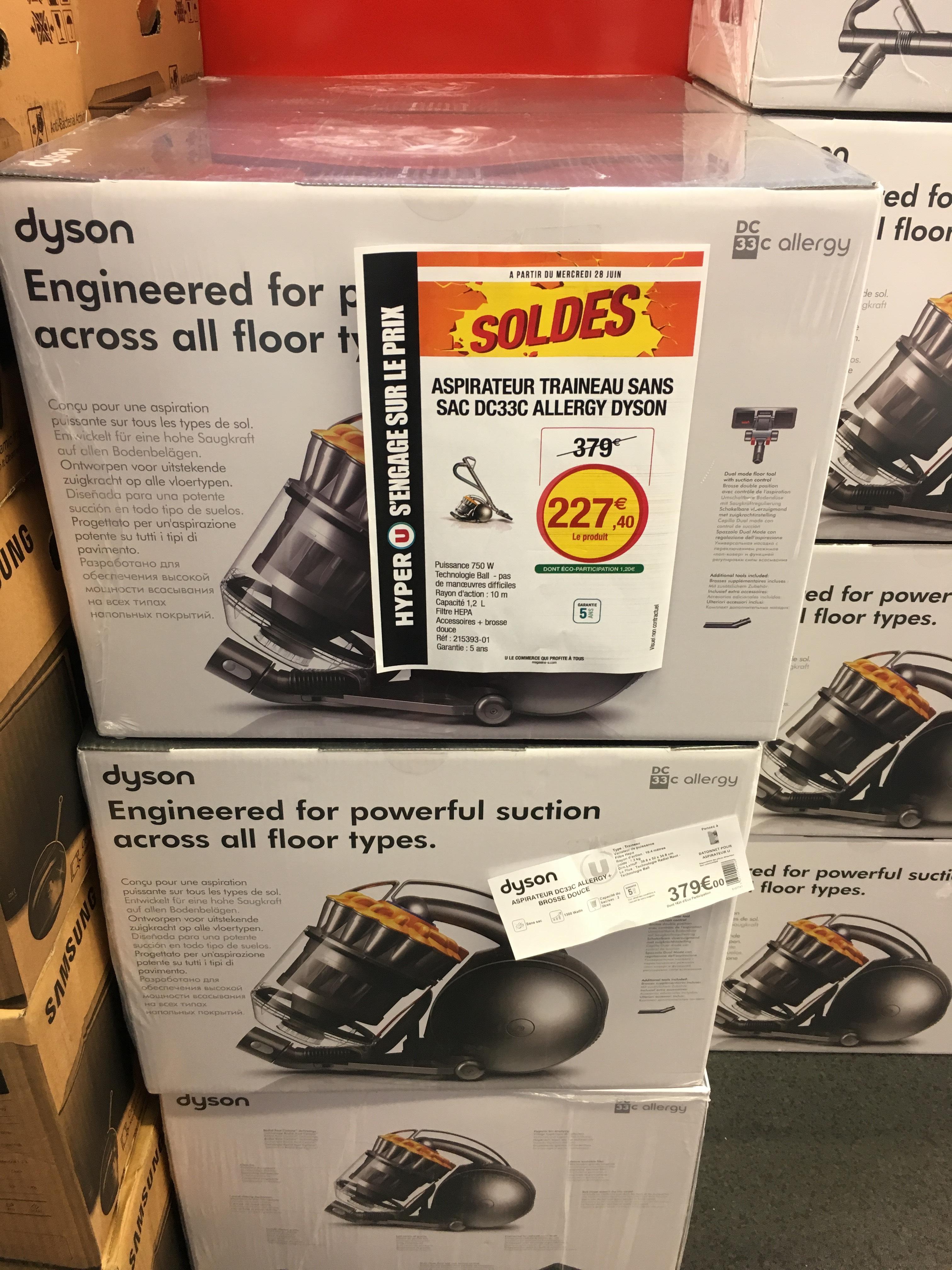 Aspirateur sans sac Dyson DC33C