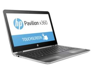 "PC Portable 13.3"" HP Pavilion x360 13-U111NF - HD (1366 x 768), i5-7200U, RAM 4 Go, HDD 1 To, Windows 10"