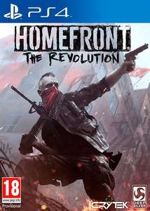 Jeu Homefront : The Revolution sur PS4 - Day One Edition