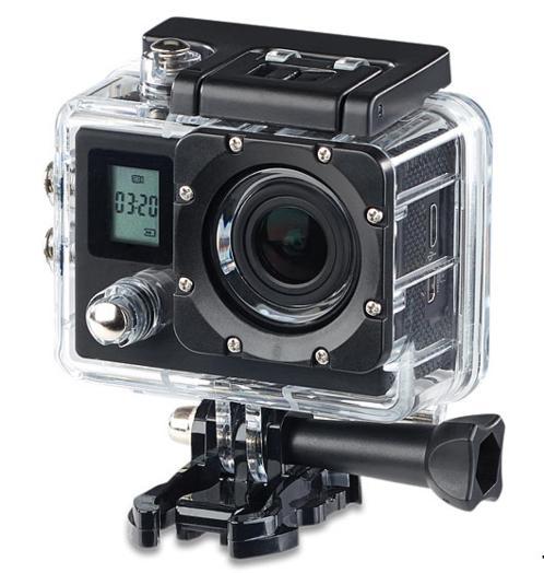 Caméra sportive Somikon - 4K UHD, 16 Mpix