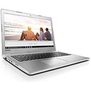 "PC Portable 15.6"" Lenovo Ideapad 510-15IKB Blanc - Full HD, i7-7500U, RAM 6 Go, HDD 1 To + SSD 128 Go, GT940MX, Windows 10"