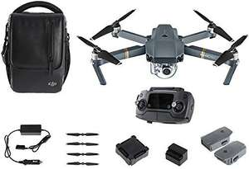 Drone DJI Mavic Pro Fly More Combo (2 batteries supplémentaires + sac + divers accessoires)
