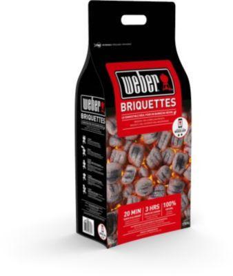 Pack de 10kg de briquettes de charbon de bois Weber