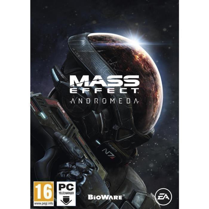 Mass Effect Andromeda sur PS4 à 29.99€ et sur PC