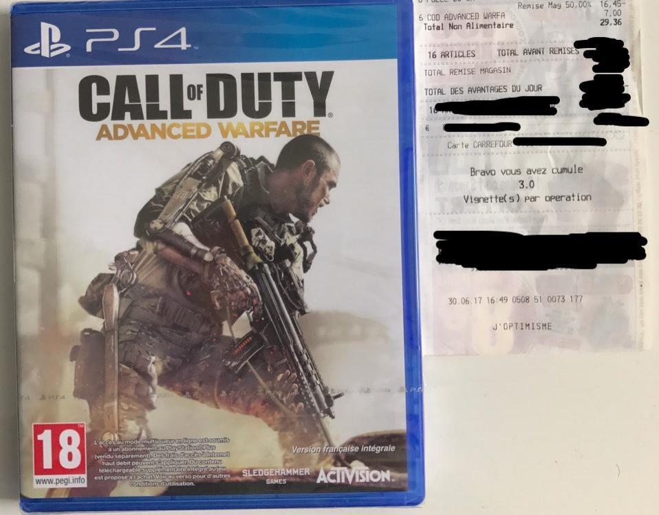 Call of Duty : Advanced Warfare sur PS4
