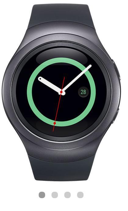 [E-Réservation] Montre Connectée Samsung Gear S2 Sport - Noir (Via ODR 100€)