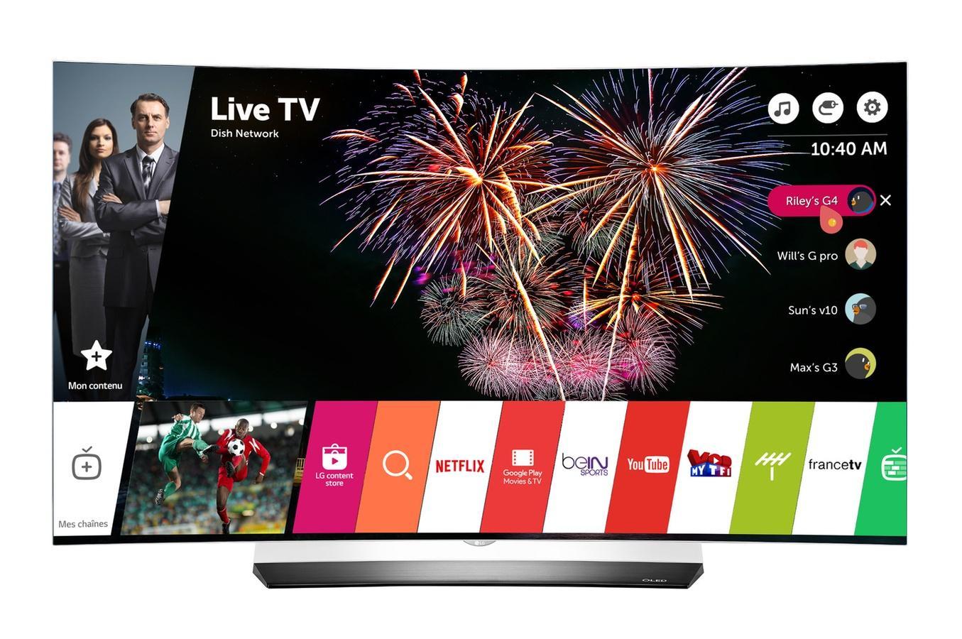 """TV 65"""" LG OLED65C6V - 4K Ultra HD, HDR, 3D, OLED"""