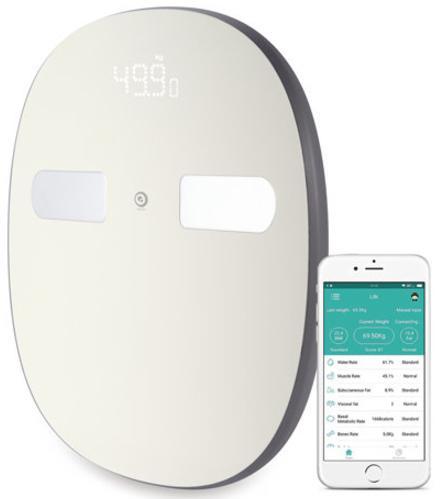 Pèse-personne Electronique Connecté Digoo DG-SO38H  - Bluetooth