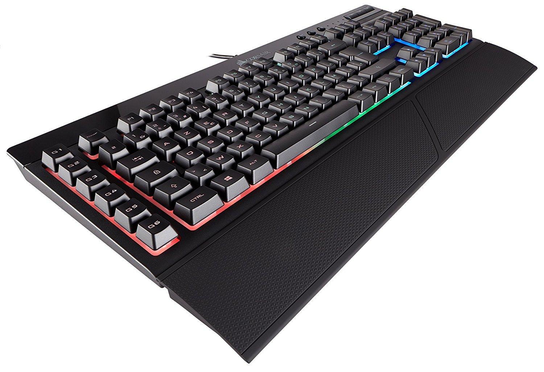 Clavier à membranes Corsair Gaming K55 - Rétroéclairage RGB