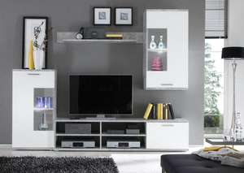 Mur TV frontal