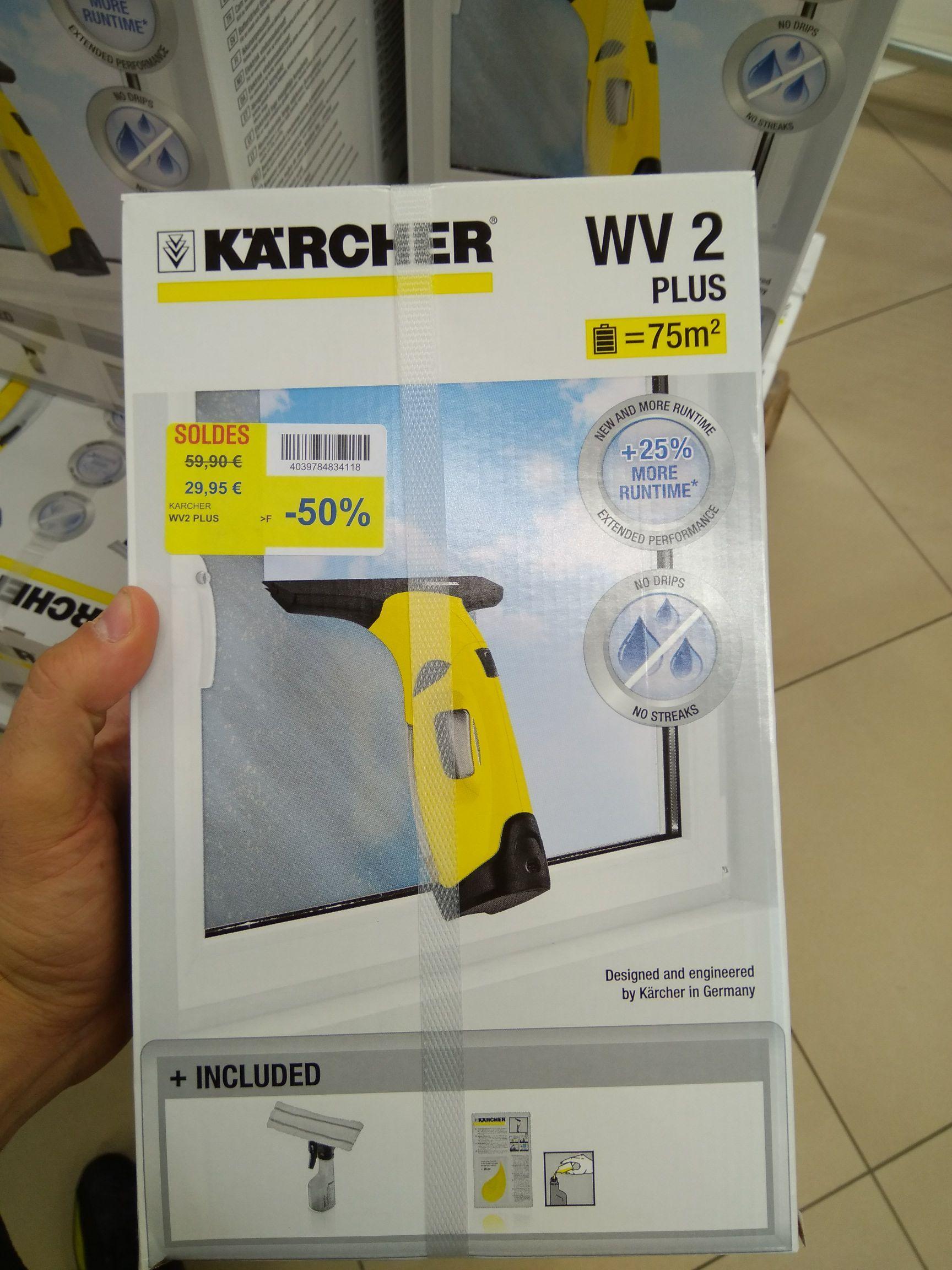 Nettoyeur vitre Kärcher WV2 Plus