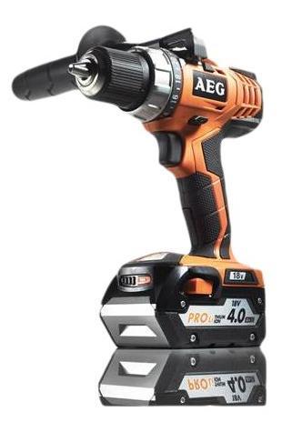 Perceuse sans fil AEG Powertools Bs18cli302c - 18V, 4 Ah, 2 batteries