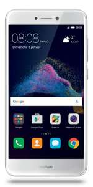 "Smartphone 5.2"" Huawei P8 Lite 2017 - Full HD, Kirin 655, 16 Go ROM, 3 Go RAM, Noir ou Blanc"