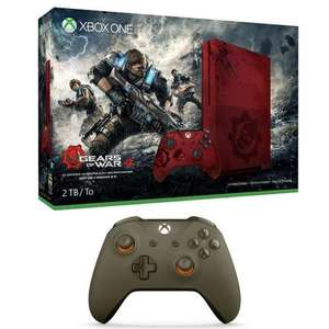 Pack Console Microsoft Xbox One S 2To + Gears Of War 4 - Edition limitée + 2ème manette