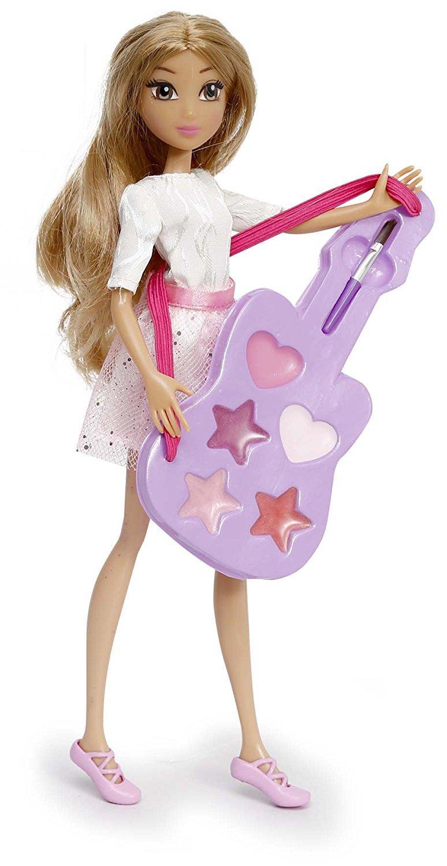 Poupée Violetta avec guitare maquillage
