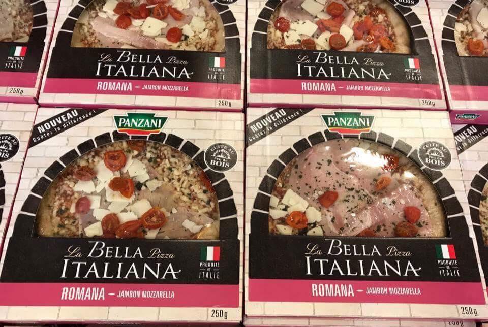 5 pizzas Panzani - Plusieurs variétés