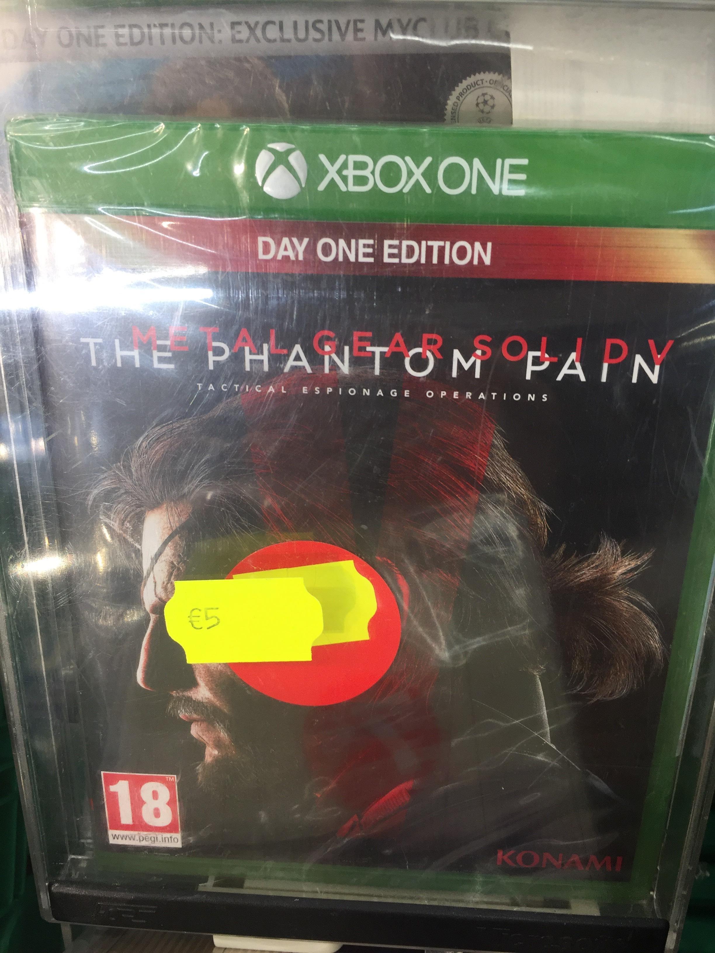 Métal Gear Solid 5 : The Phantom Pain [Edition Day One]