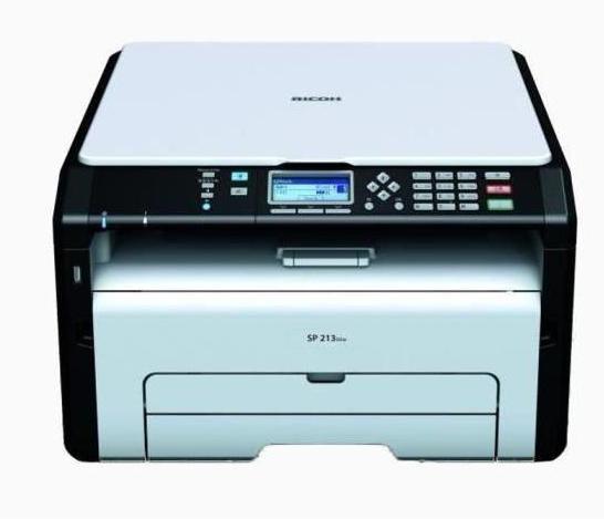 Imprimante Laser Ricoh 3 en 1 Wifi SP 213SUw - Impression en noir et blanc