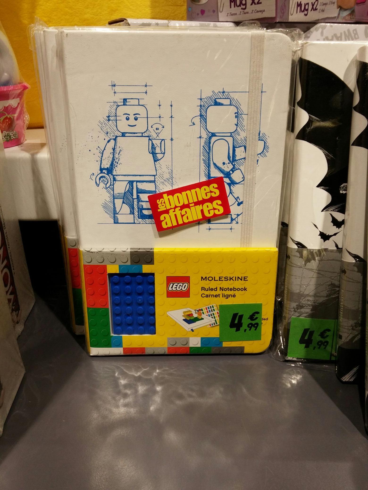 Carnet Lego/Batman Moleskine