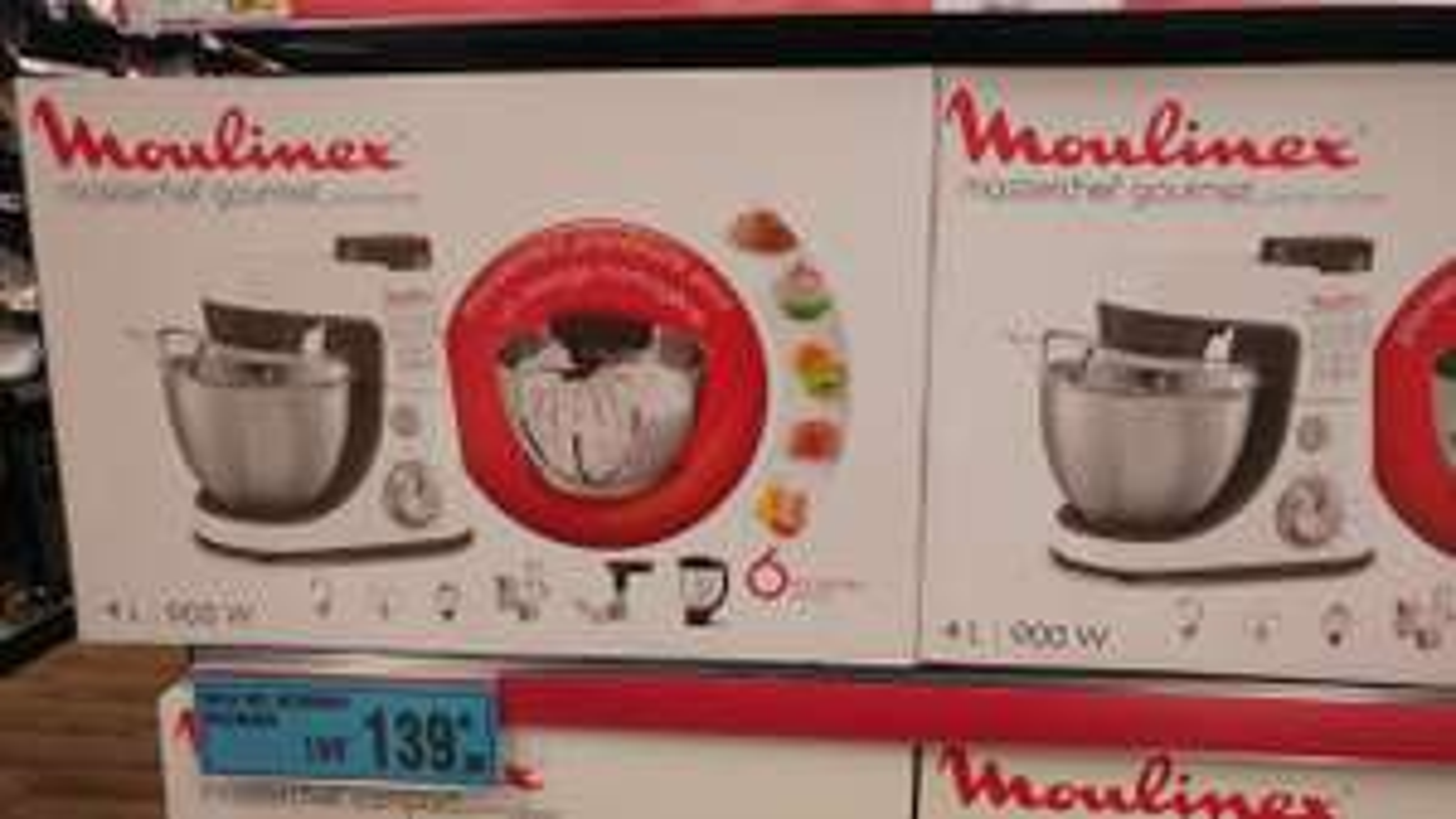Robot pâtissier Moulinex Masterchef Gourmet