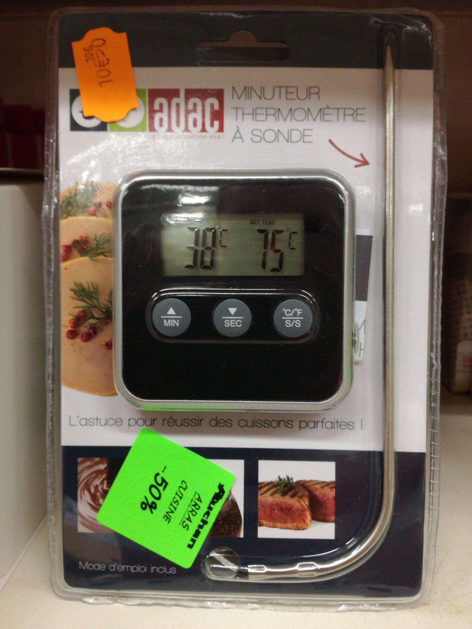 thermometre de cuisson Adac