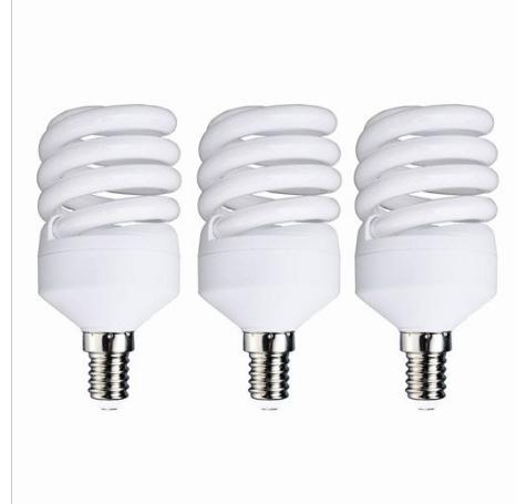 Lot de 3 ampoules Lexmann à spirales, fluorescentes 23W , E14