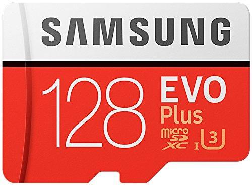 Carte mémoire microSDXC Samsung Evo Plus U3 - 128 Go