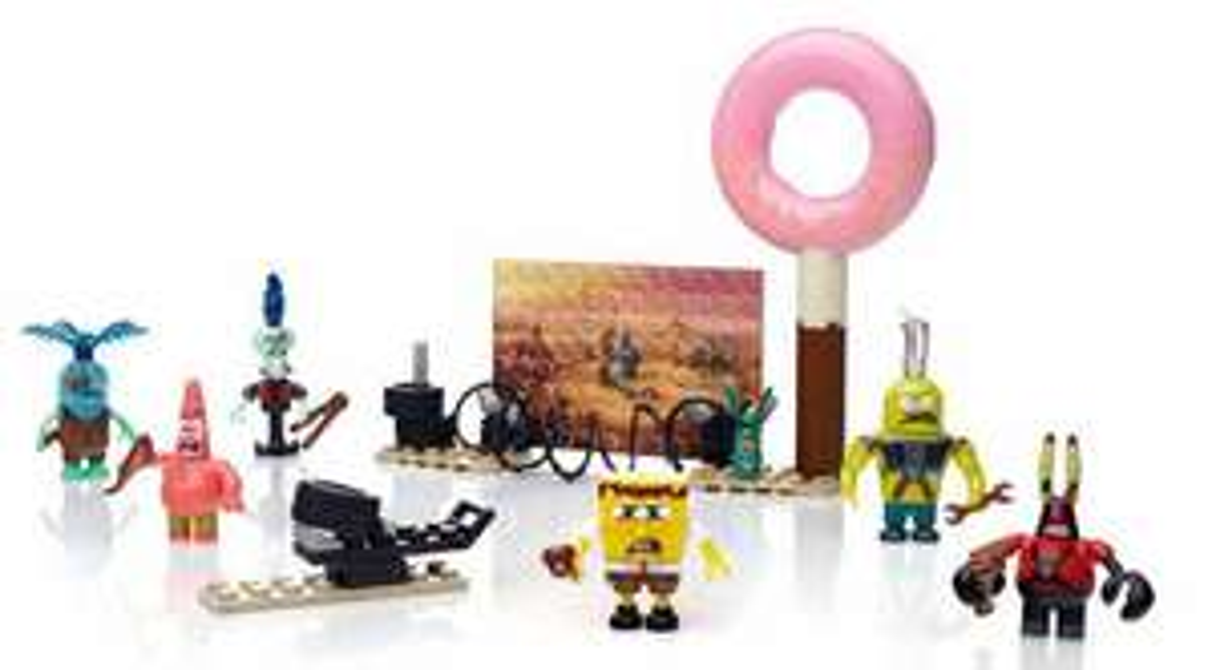 Pack Megabloks CND26 - Figurines post-apocalypse Bob l'Éponge