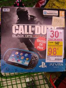 Pack Console Sony PS Vita 4Go (premier modèle) + Call of Duty Black OPS